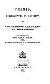 Themis: regtskundig tijdschrift : verzameling van bijdragen tot de kennis van het publiek- en privaatrecht, Volume 19