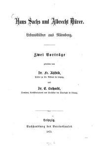 Hans Sachs und Albrecht D  rer PDF