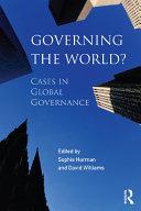 Governing the World?