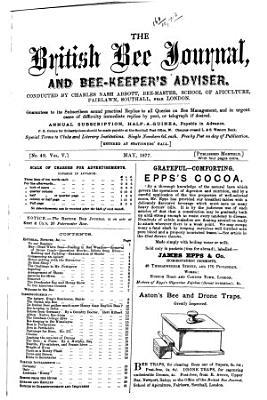 British Bee Journal   Bee keepers Adviser PDF