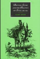 British Satire and the Politics of Style  1789 1832 PDF