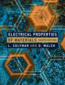 Electrical Properties of Materials PDF