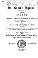 St  Basil s Hymnal PDF