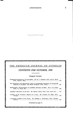 The American Journal of Syphilis  Gonorrhea  and Venereal Diseases PDF