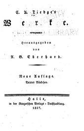 Werke: Bände 3-4