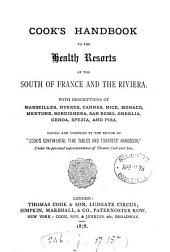 Cook's handbook to the health resorts of the south of France and the Riviera