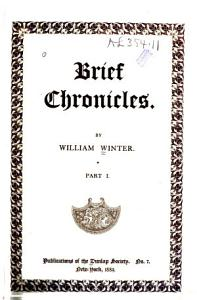 Brief Chronicles PDF