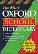The Mini Oxford School Dictionary PDF