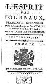 L'Esprit des journaux franc̜ais et étrangers: Volume55