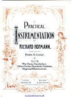 Harp, mandoline, zither, guitar, piano (cembalo), organ and harmonium