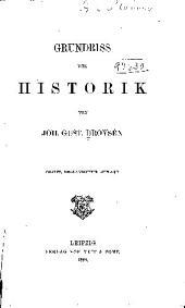 Grundriss der Historik