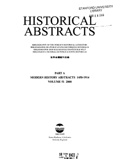 Historical Abstracts PDF