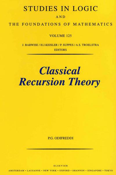 Download Classical Recursion Theory Book