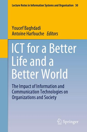 ICT for a Better Life and a Better World PDF
