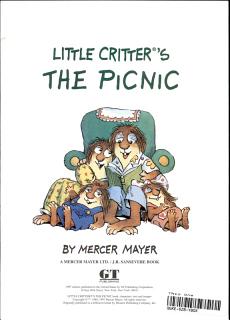 Little Critter s the Picnic Book