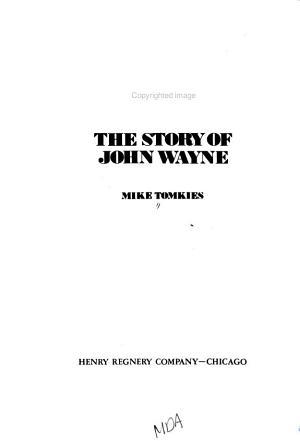 Duke  the Story of John Wayne PDF