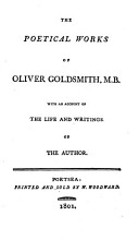 The Poetical Works of Oliver Goldsmith  M B  PDF