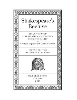 Shakespeare s Beehive