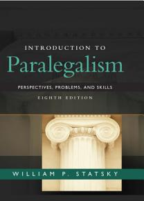Introduction to Paralegalism  Perspectives  Problems and Skills PDF