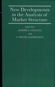 New Developments in the Analysis of Market Structure PDF