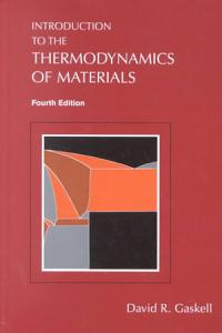 Introduction to the Thermodynamics of Materials  Fifth Edition PDF