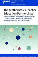 The Mathematics Teacher Education Partnership PDF