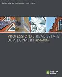 Professional Real Estate Development Book