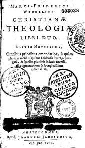 Christianae theologiae libri II
