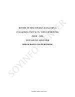 History of Miso, Soybean Jiang (China), Jang (Korea) and Tauco (Indonesia) (200 BC-2009)