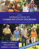 Introduction to Communication Disorders PDF