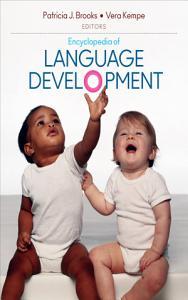 Encyclopedia of Language Development Book