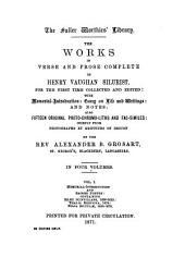 The Works of Henry Vaughan, Silurist: Volume 1