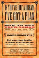 If You ve Got a Dream  I ve Got a Plan PDF