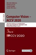 Computer Vision -- ACCV 2020