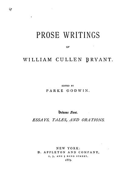 Download The Life and Works of William Cullen Bryant Book