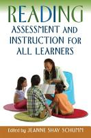 Reading Assessment and Instruction for All Learners PDF
