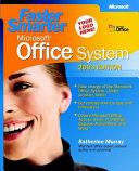 Faster Smarter Microsoft Office System PDF