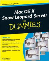 Mac OS X Snow Leopard Server For Dummies PDF