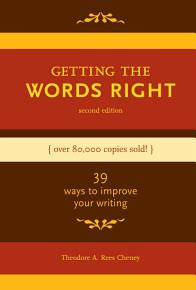 Getting the Words Right PDF
