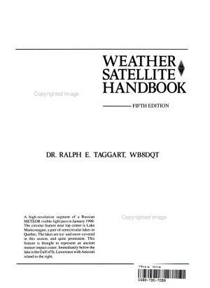 Weather Satellite Handbook