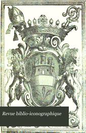 Revue biblio-iconographique: Volume12