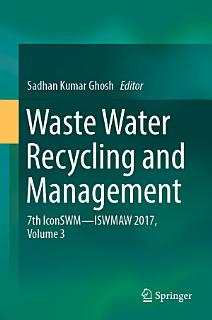 Waste Water Recycling and Management Book