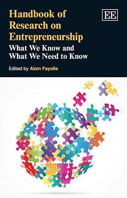 Handbook of Research On Entrepreneurship