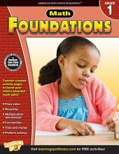 Math Foundations, Grade 1