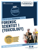 Download Forensic Scientist I  Toxicology  Book
