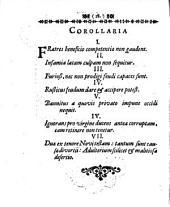 De transactione legis cum reis delictorum de existimatione, per aggravationem poenae: occasione potissimum L. 13. §. 7. ff. de his qui not. infam