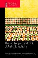 The Routledge Handbook of Arabic Linguistics PDF