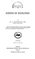 The Science of Exchanges PDF