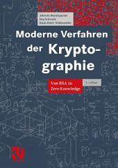 Moderne Verfahren der Kryptographie: Von RSA zu Zero-Knowledge, Ausgabe 3
