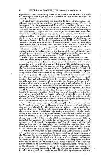Report of the Commissioners Appointed to Inquire Into the Constitution and Government of the British Museum PDF